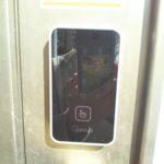 玄関ドアに電子キー