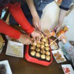 初♪タコ焼きパーティ開催