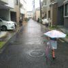 念願の雨!