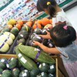 スーパーへ野菜の品出しに行く②