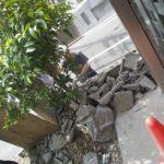 ブロック塀解体!